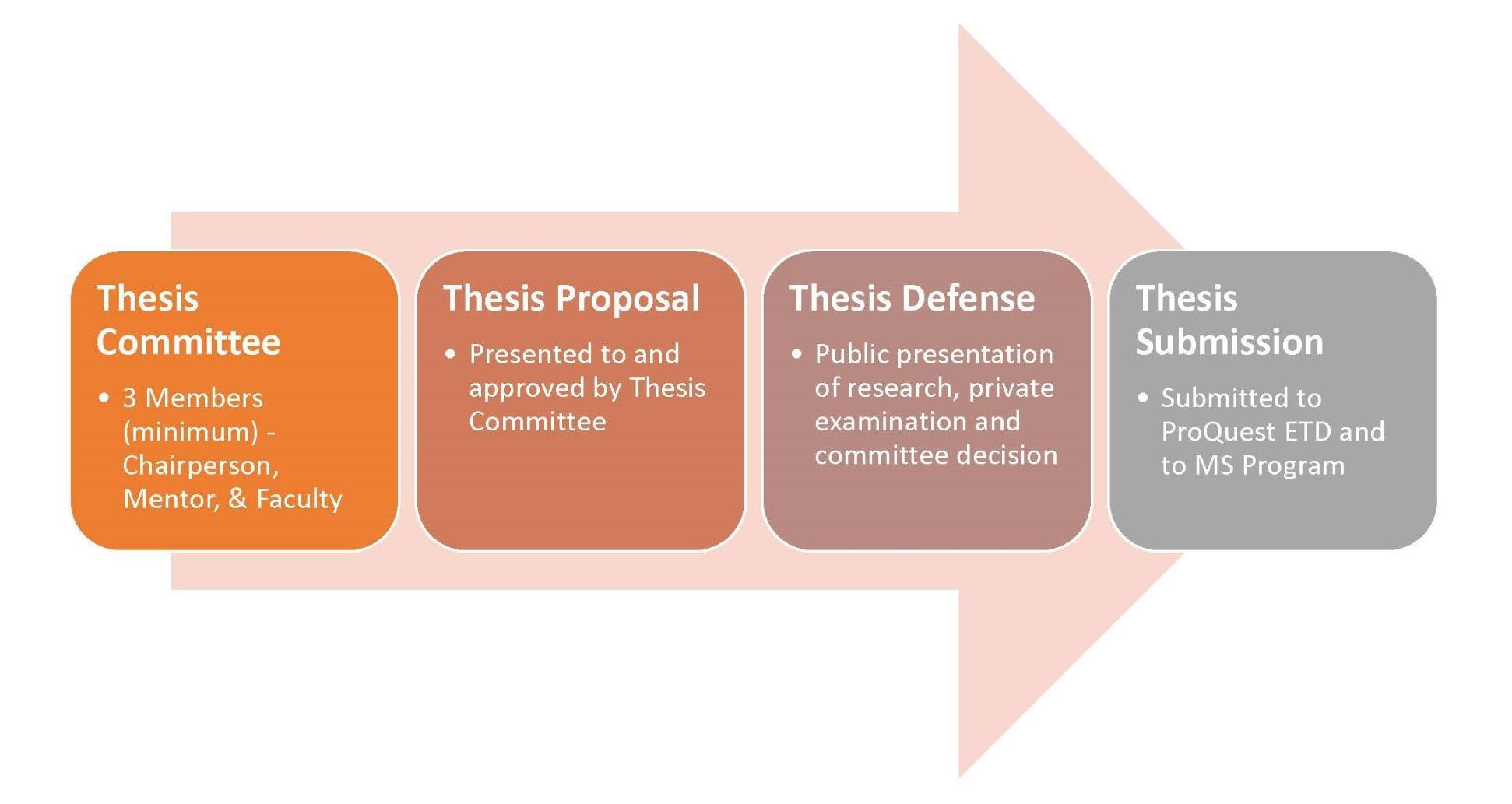 MS Thesis Process Flow Chart