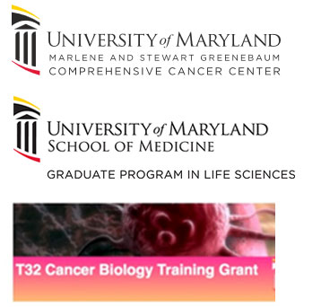 2017 Sponsors: University of Maryland Marlene and Stewart Greenebaum Comprehensive Cancer Center, UMSOM Graduate Program in Life Sciences and T32 Cancer Biology Training Grant
