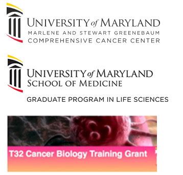2017 Sponsors: University of Maryland Marlene and Stewart Greenebaum Comprehensive Cancer Center, UMSOM Graduate Program in Life Sciences and T32 Cancer Biology Training Grant