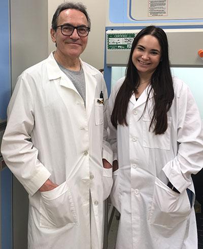 Yessenia and Dr. Passaniti